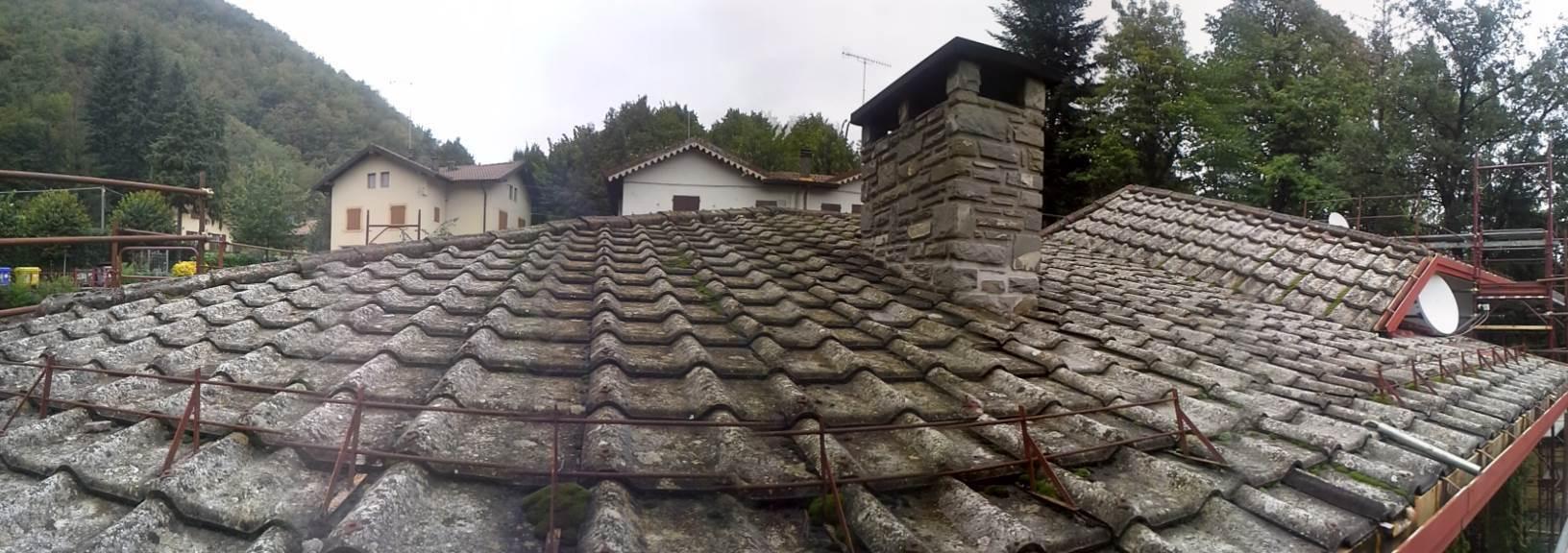 Rifacimento tetto per abitazione civile asap for Tettoia inclinata del tetto